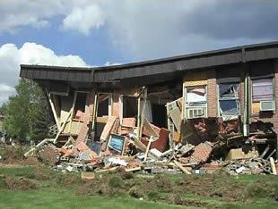 casas derribadas