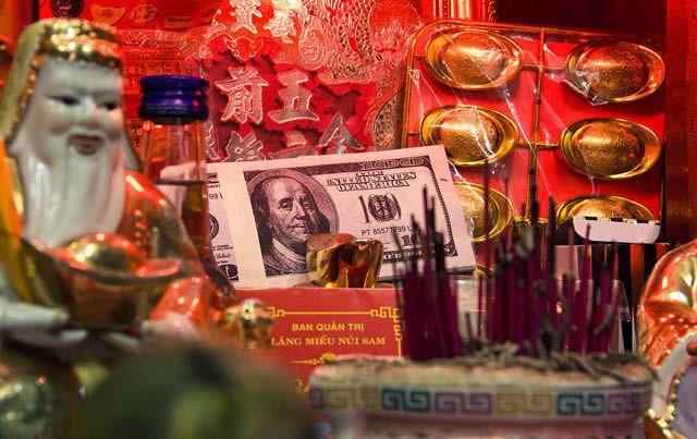 Dinero Fantasma tradición china (9)