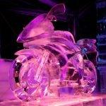 Espectaculares esculturas de hielo
