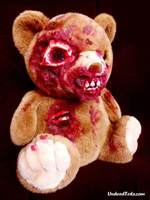 osos peluche zombis Undead Teds (1)