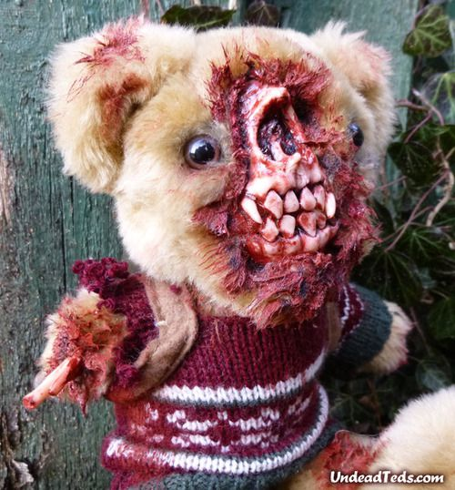 osos peluche zombis Undead Teds (8)