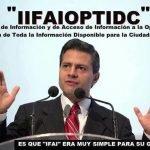 Peña Nieto no sabe qué significa IFAI