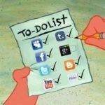 listas cosas que hacer