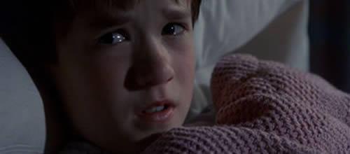 """Famosa escena de la película """"El sexto sentido"""""""