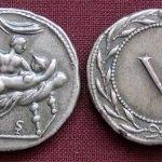 Las monedas romanas del sexo