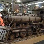 Tren de 34 metros hecho de chocolate