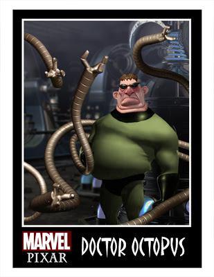 Pixar Marvel DC Comics Phil Postma (21)