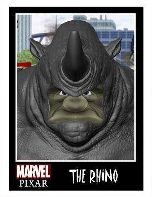 Pixar Marvel DC Comics Phil Postma (20)