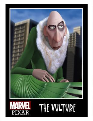 Pixar Marvel DC Comics Phil Postma (19)