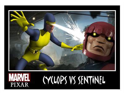 Pixar Marvel DC Comics Phil Postma (7)