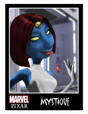 Pixar Marvel DC Comics Phil Postma (4)