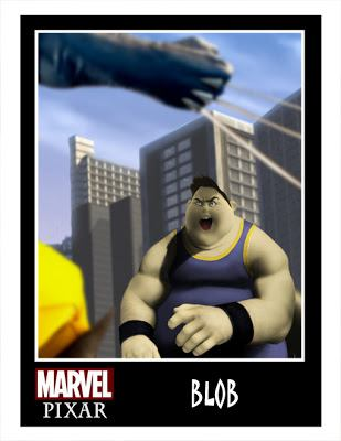 Pixar Marvel DC Comics Phil Postma (3)