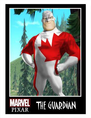 Pixar Marvel DC Comics Phil Postma (1)