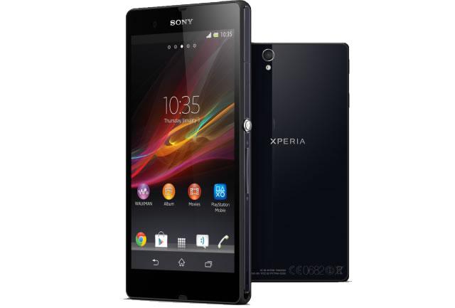 Sony Xperia Z dos caras