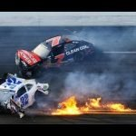 Espectacular accidente de NASCAR 2013
