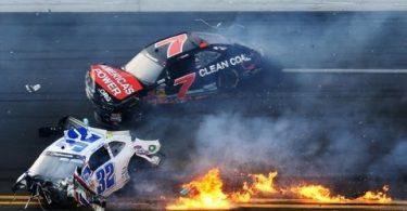 accidente NASCAR 2013