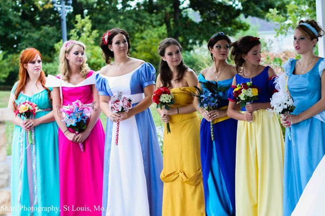 Matrimonio Tema Walt Disney : Boda de princesas disney marcianos