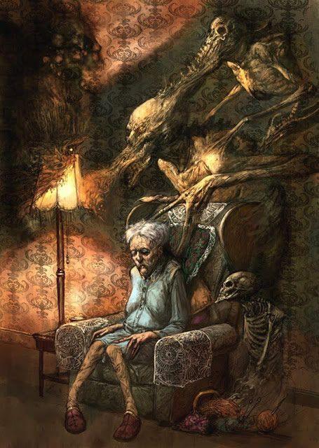 ilustraciones macabras de Dave Kendall (10)
