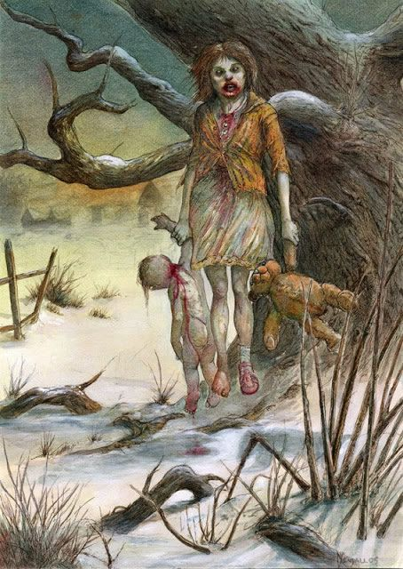ilustraciones macabras de Dave Kendall (9)