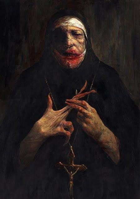 ilustraciones macabras de Dave Kendall (8)