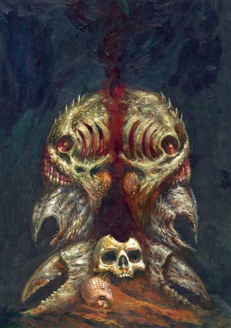 ilustraciones macabras de Dave Kendall (7)