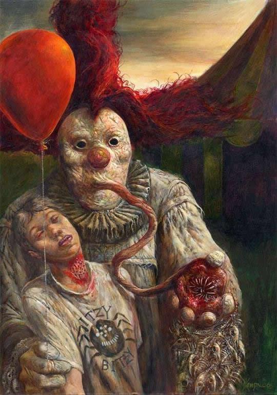 ilustraciones macabras de Dave Kendall (1)