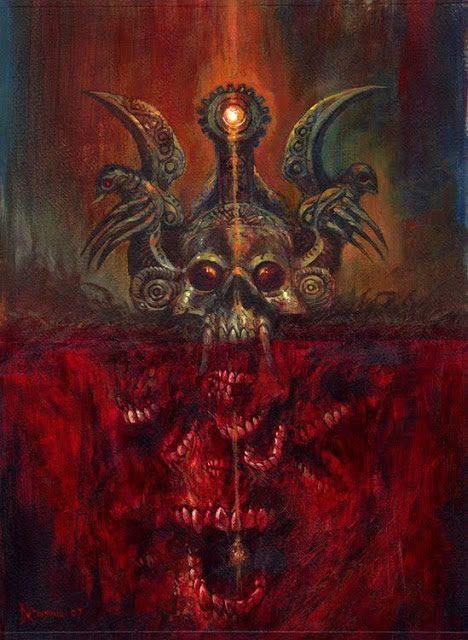 ilustraciones macabras de Dave Kendall (4)