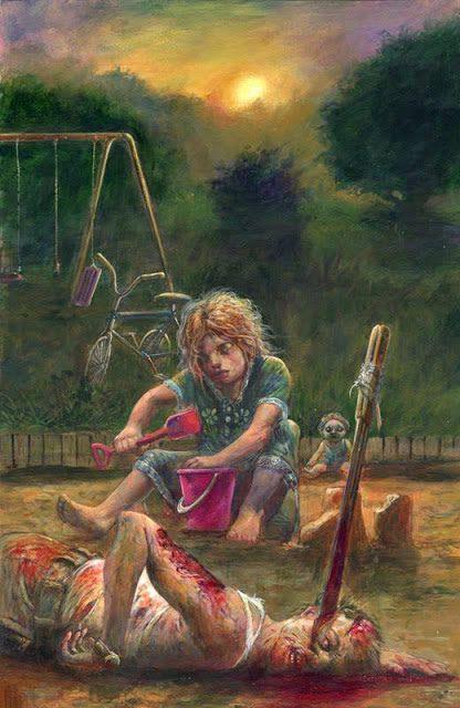 ilustraciones macabras de Dave Kendall (3)