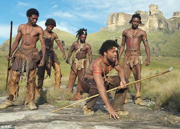 humanos africa