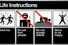 instrucciones buena vida
