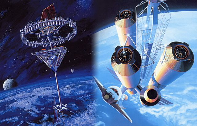 Space Hotel concepto Shimizu Corporation
