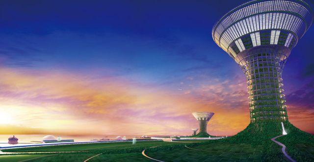 isla por concepto Shimizu Corporation