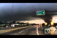 Tornado en Hattiesburg