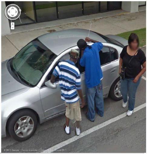 Imágenes raras de Google Street View (1)