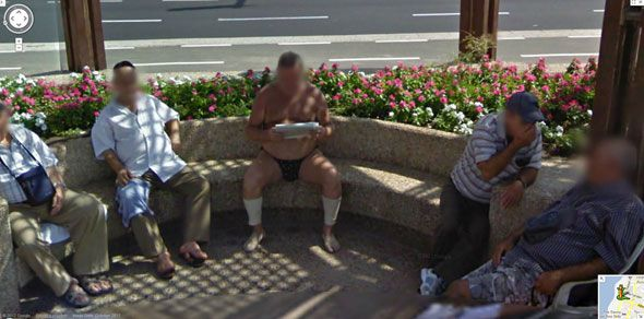 Imágenes raras de Google Street View (7)