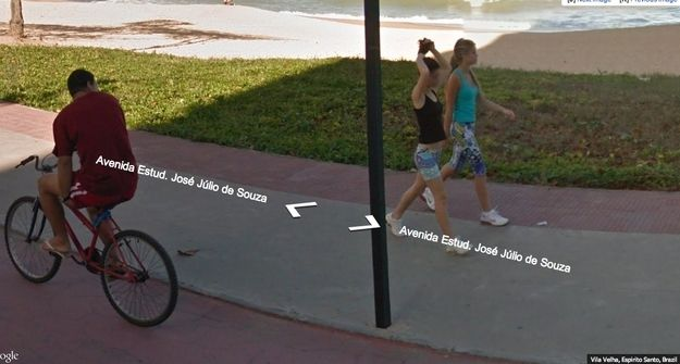 Imágenes raras de Google Street View (6)