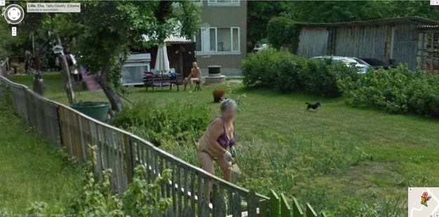Imágenes raras de Google Street View (5)