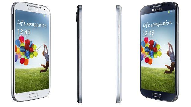 Samsung Galaxy S IV perfil