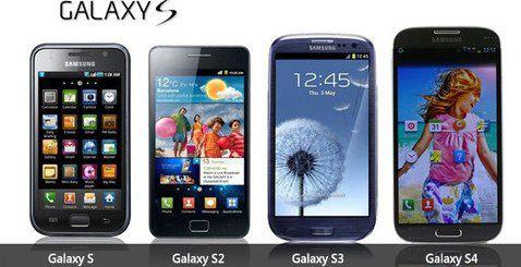 Samsung Galaxy versiones