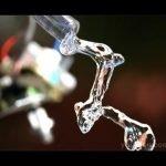 sonido y agua