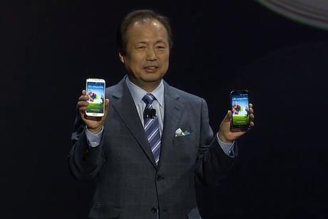 presentacion Samsung Galaxy S IV