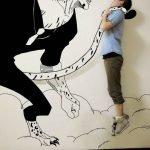 Dibujos 2D invaden la realidad