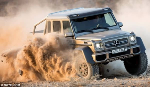 Mercedez-Benz G63 AMG 6×6 (7)