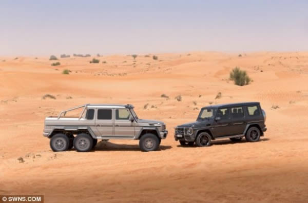 Mercedez-Benz G63 AMG 6×6 (5)