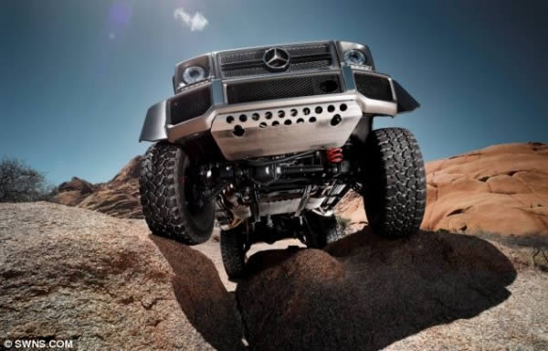 Mercedez-Benz G63 AMG 6×6 (3)