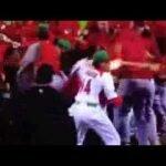Pelea Canadá VS México - Clásico mundial de béisbol