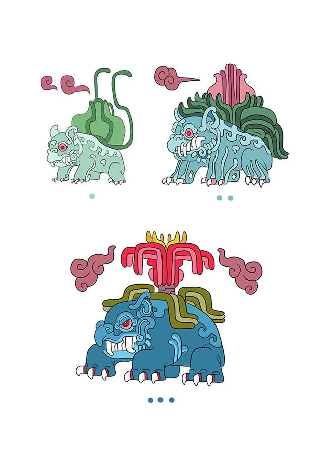 Pokémon Maya pokemayans (2)