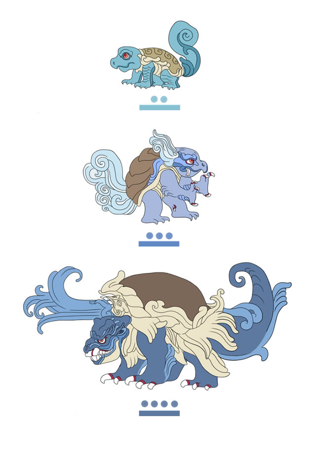 Pokémon Maya pokemayans (3)