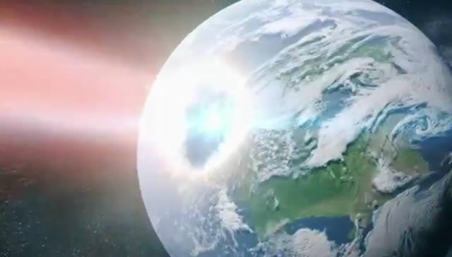 rayo gamma golpea tierra