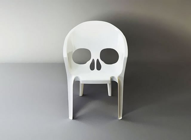 silla muerte